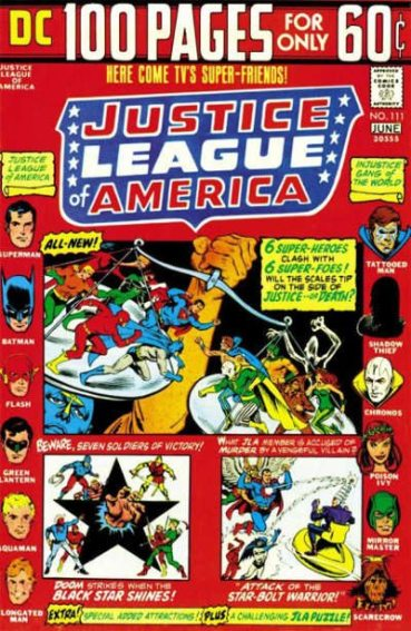 Justice League of America #111