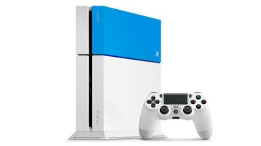 Aqua Blue PlayStation 4
