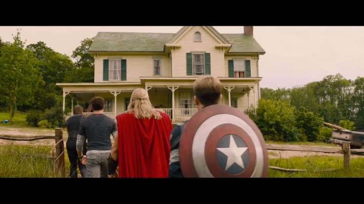 Avengers' Farmhouse