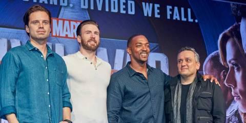 Captain America Civil War - Full Press Conference