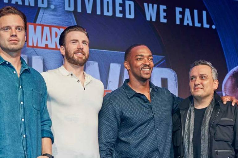 Captain America Civil War - Full Press Conference