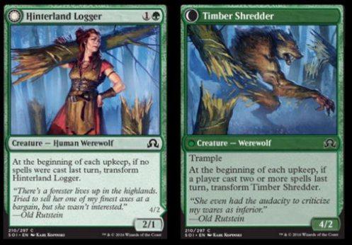 Hinterland Logger flips over to become Timber Shredder