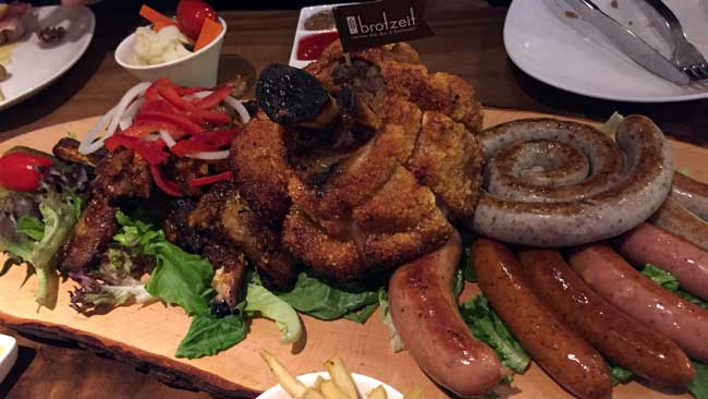 The Brotzeit Platter