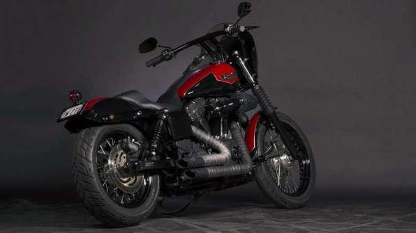 Ant-Man - Harley-Davidson Street Bob, a.k.a. Heart
