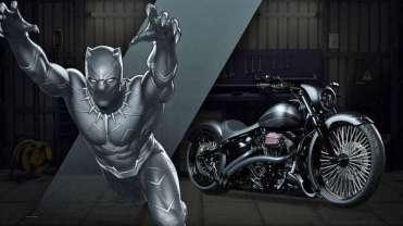 Black Panther - Harley-Davidson Breakout, a.k.a. Pride
