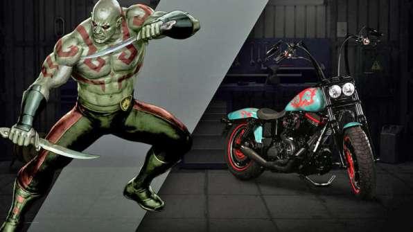 Drax - Harley-Davison Fat Bob, a.k.a. Persuasive
