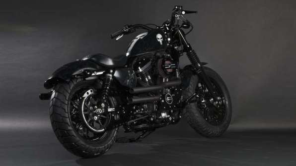 Punisher - Harley-Davidson Forty-Eight, a.k.a. Up-Front