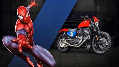 Spider-Man - Harley-Davidson Iron 883, a.k.a. Agility