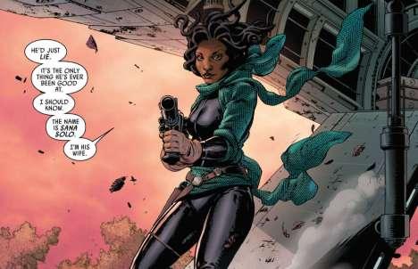 Sana Solo in Marvel Comics' Star Wars #6 (2015)