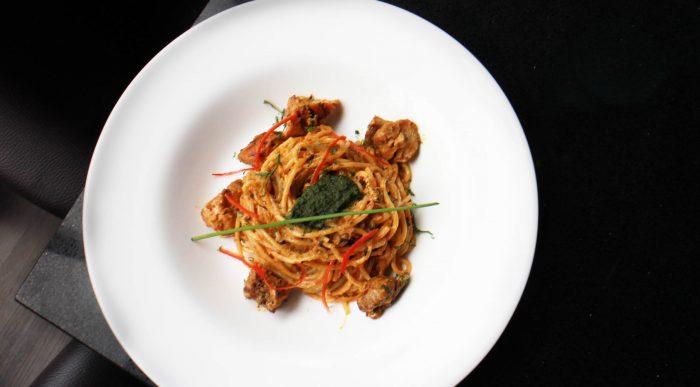 'Katong' Chicken Laksa Spaghetti - Justsaying.ASIA