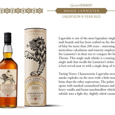 House Lannister – Lagavulin 9 Year Old