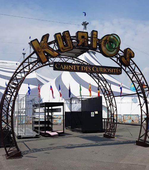 The entrance of Kurios in Singapore.