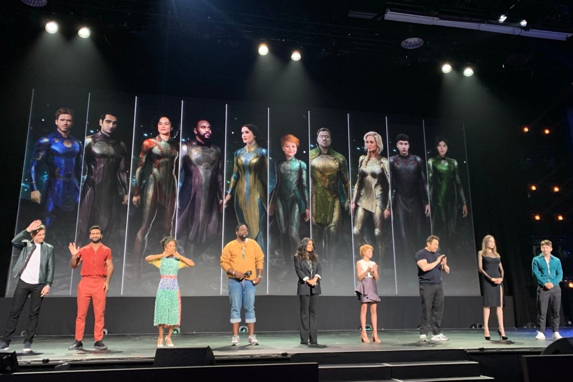 Eternals cast feature
