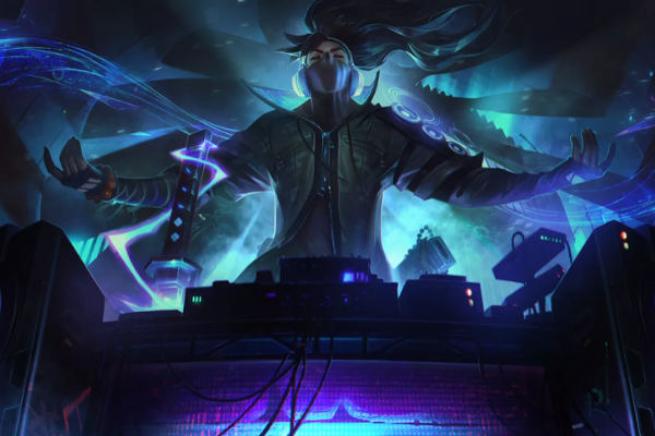 Yasuo is the DJ in League of Legends' True Damage.