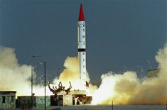 hatf 8 missile's successful test by pakistan