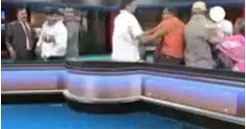 fight in indian news tv talk show