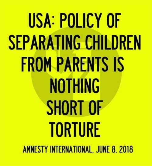 Protest Poster - Amnesty International Statement - Nicolas Lampert