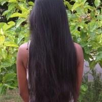 Virgin indian black hair