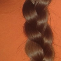 17 inches Virgin Brown Hair