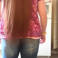 30+ inches Brown hair for sell