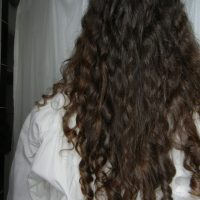 14 inches thick virgin hair