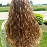Perfect Auburn virgin beach waves 18""