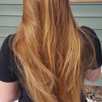 Virgin Blonde Hair 12 In