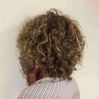 "8 year old boy 10"" curly hair!"