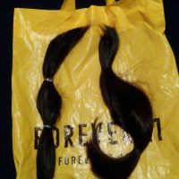 Natural human hair for sale - two ponytails