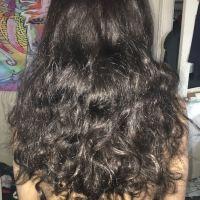 18-22inch thick virgin black hair
