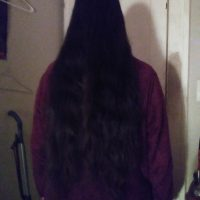 Beautiful Coffee Brown 26 inch Virgin hair