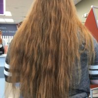 "Beautiful 14"" Natural Red Hair"