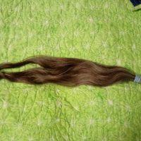 Light brown, salt and pepper virgin hair