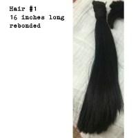 Already cut Black asian Hair
