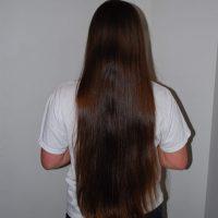 *** Virgin Brown Hair - Naturally Straight ***