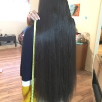 "30 "" Thick Dark Brown Virgin Hair"