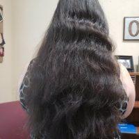 "16"" of Dark Brown Virgin Hair from Non-Smoker"