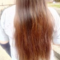 Long Auburn Hair 22in
