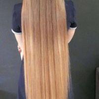 FRESH ALREADY CUT VIRGIN BLONDE HAIR Virgin