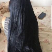 """""""28Thick black hair"""