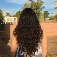 Peruvian Curly Virgin Brown Hair 15 inches