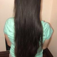 """14-15"""" of Virgin Latina Hair (4"""" thick)"""