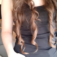 Chestnut 21 inch 1 thick Italian virgin hair (cut)