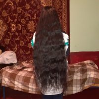 "1 meter/ 40"" long, black, virgin, healthy, straight , thick, Caucasian hair."