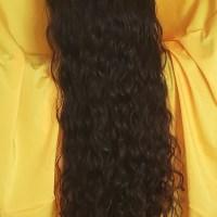 """Thick Dark Brown Curls, 17"""""""