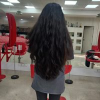 Pure black hair on sale