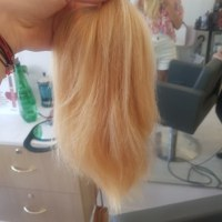 Virging Blonde Hair for sale