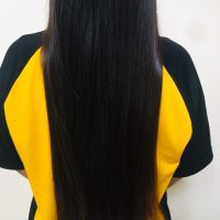 11inches Black Asian Hair