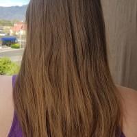"""14"""" Very Dirty Blonde - Brown Virgin Hair"""