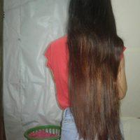 Black/Brown Hair 30 inches